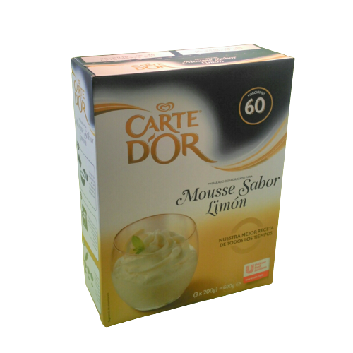 MOUSSE LIMON CART D'OR 600 G.